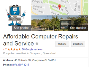 affordable computer repairs brisbane southside