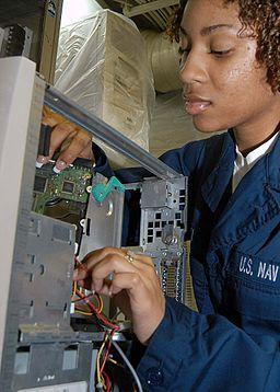 computer repair history