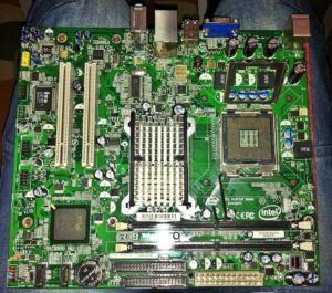computer motherboard in dictionary of computer terms